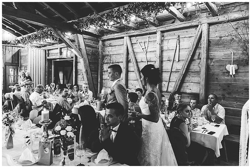 Hochzeitsfeier im Schammenhof in Langenau