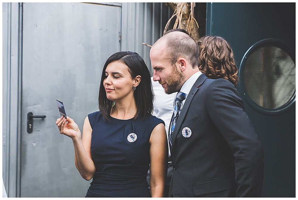 Gäste bei Hochzeit im Allgäu