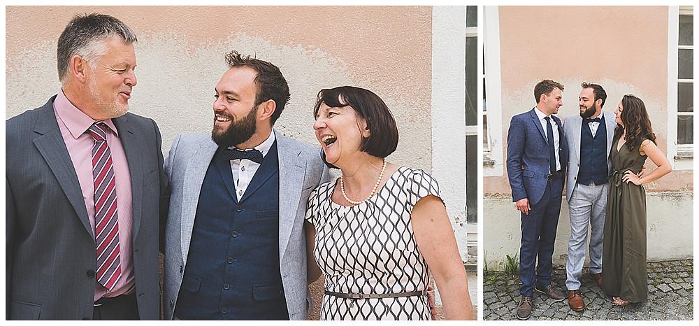 Heiraten im Kloster Wiblingen Familienbilder