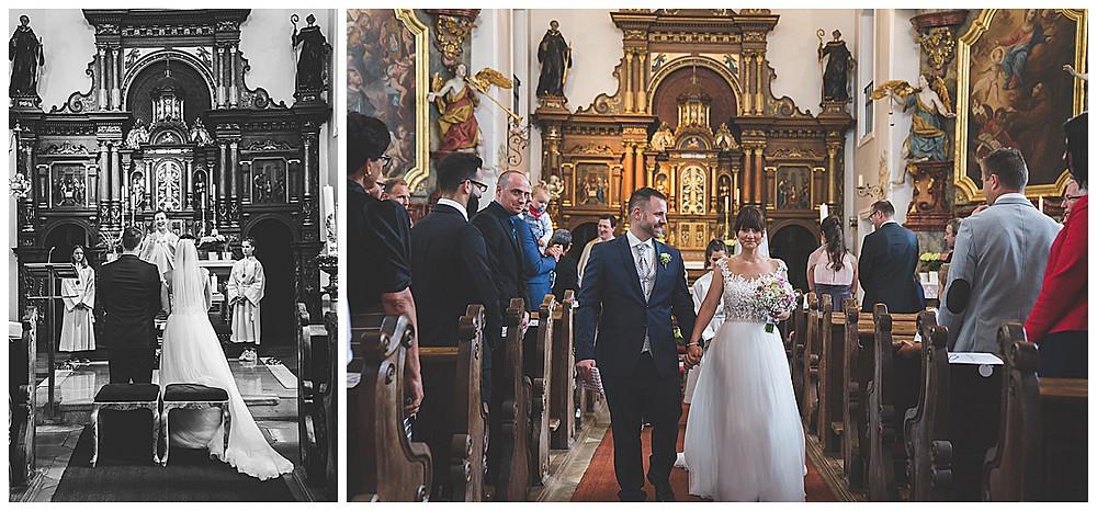 kirchliche Hochzeit Heidenheim Brautauszug