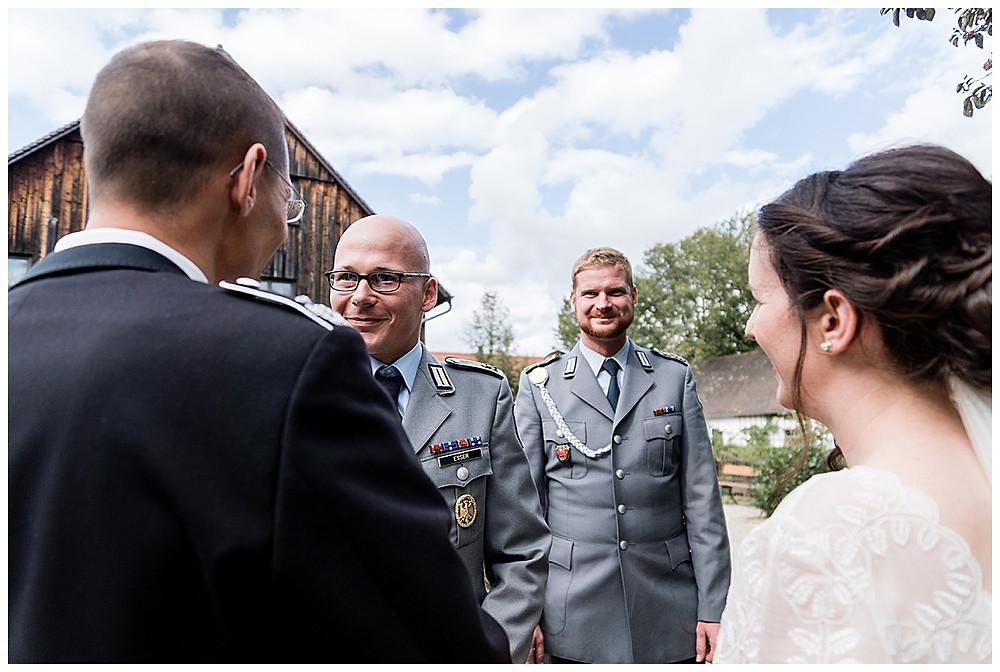 Gratulation Hochzeitsgäste