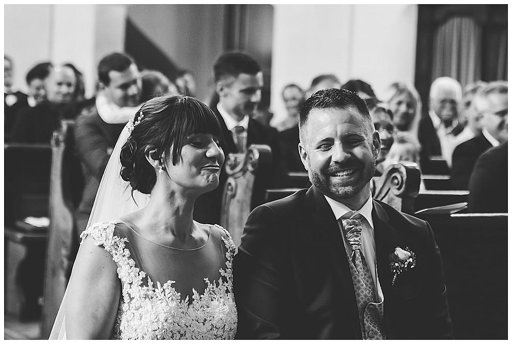 kirchliche Hochzeit Brautpaar