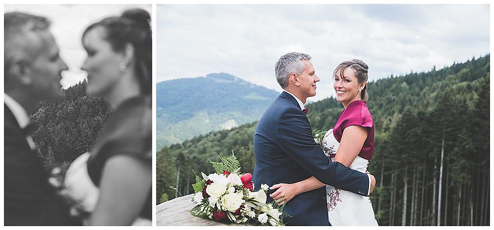 Brautpaarshooting Berghochzeit Tregler Alm