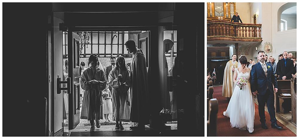 Brauteinzug kirchliche Hochzeit Heidenheim