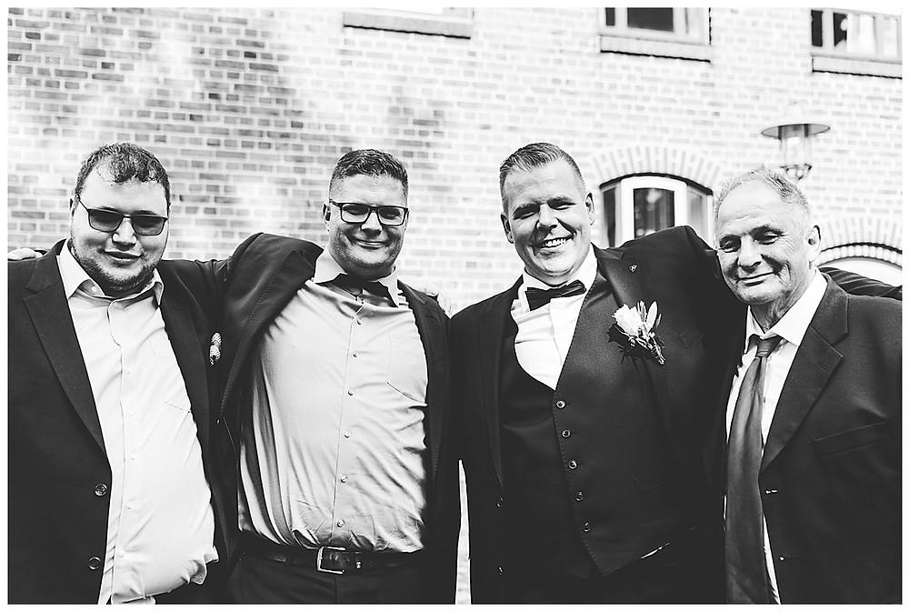 Familienbilder in Ammersbek bei Hochzeit