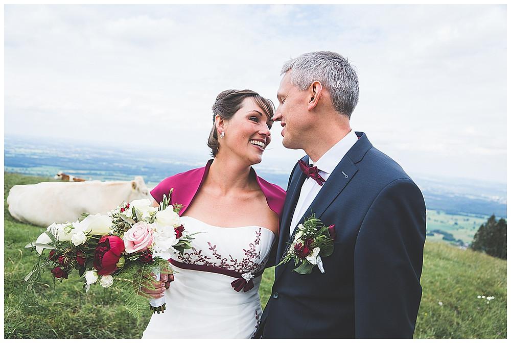 Brautpaarfotos Tregler Alm