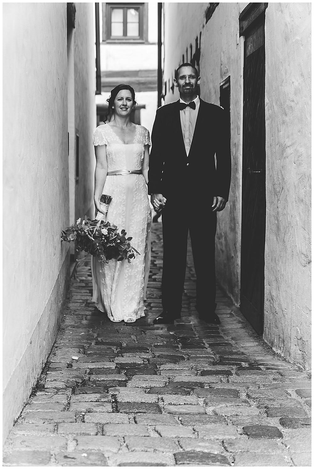 Brautpaarshooting Ulm Hand in Hand