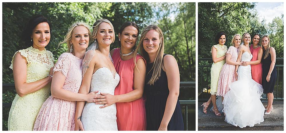 Heiraten in den Fischerstuben Augsburg Mädelsfoto