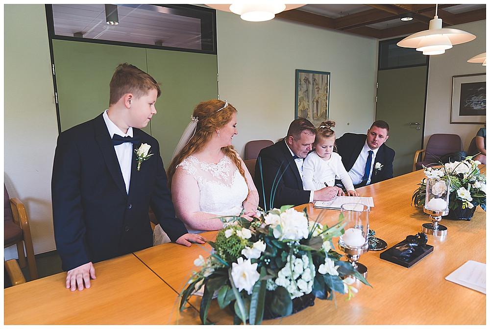 Unterschrift Brautpaar Standesamt
