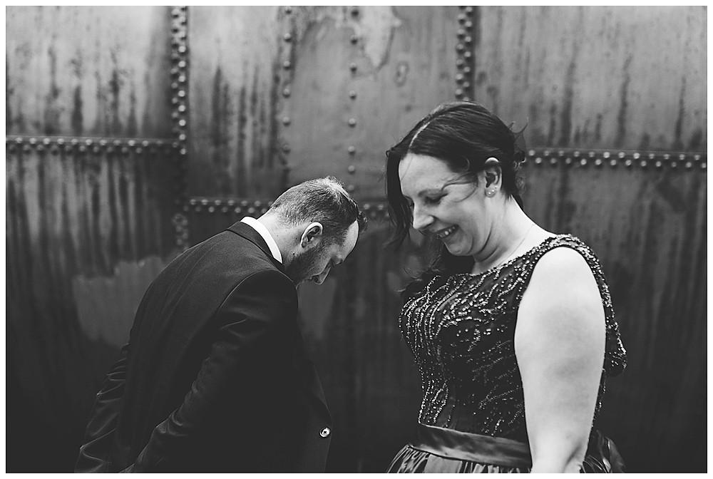 Brautpaar in Augsburg am Gaswerk