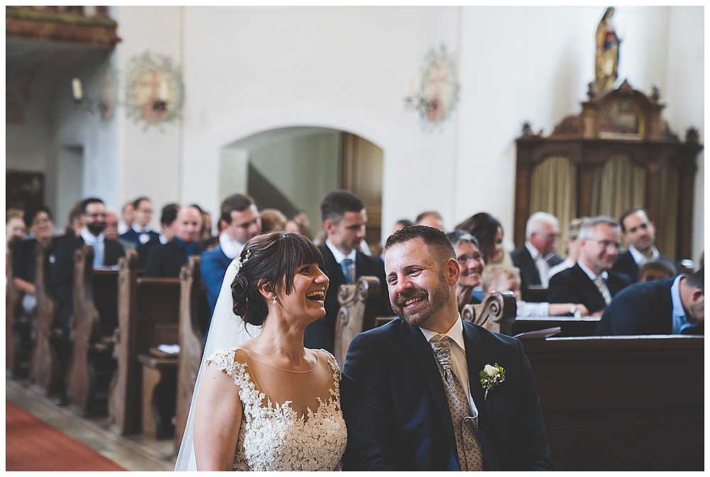 Hochzeitsfotograf Heidenheim  kirchliche Hochzeit