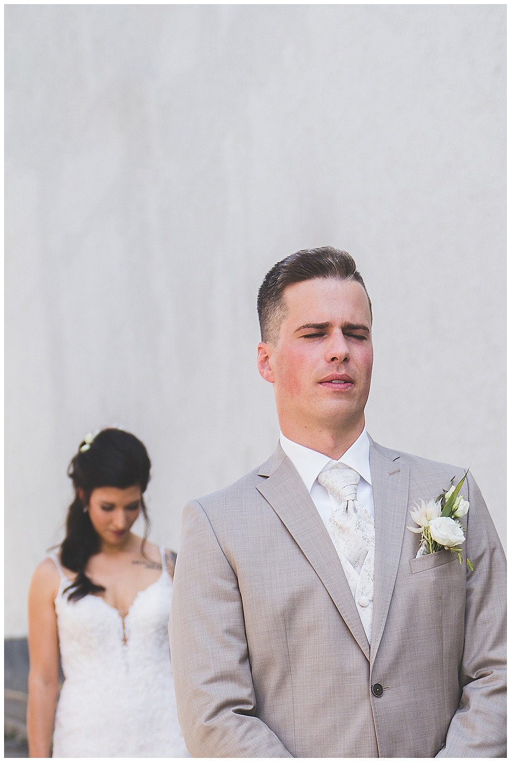 Hochzeitsfotograf Heidenheim  First Look