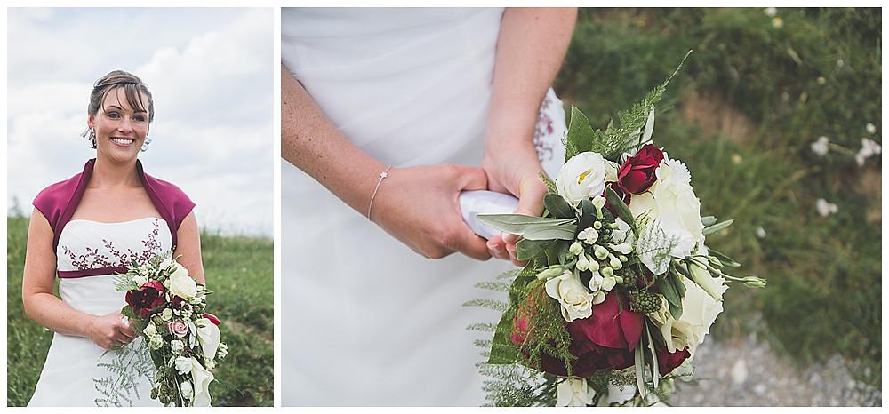 Braut und Bratstrauß