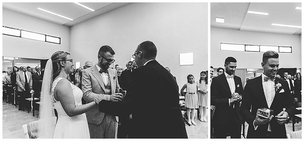 Hochzeitsgottesdienst Ringübergabe in Stuttgart
