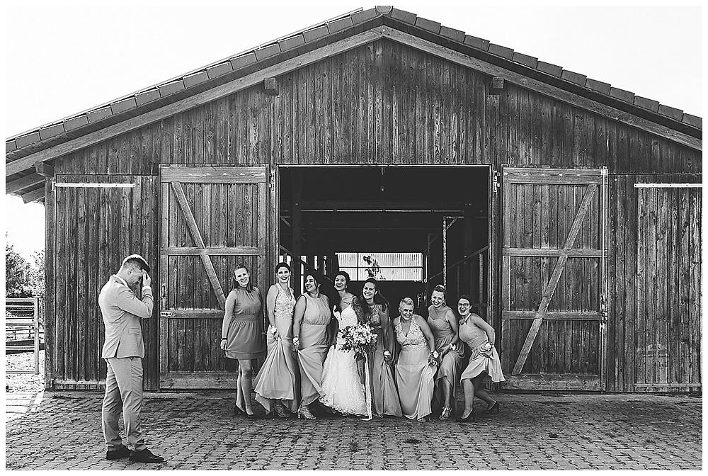 Brautjungfern Hochzeitsfotograf Heidenheim