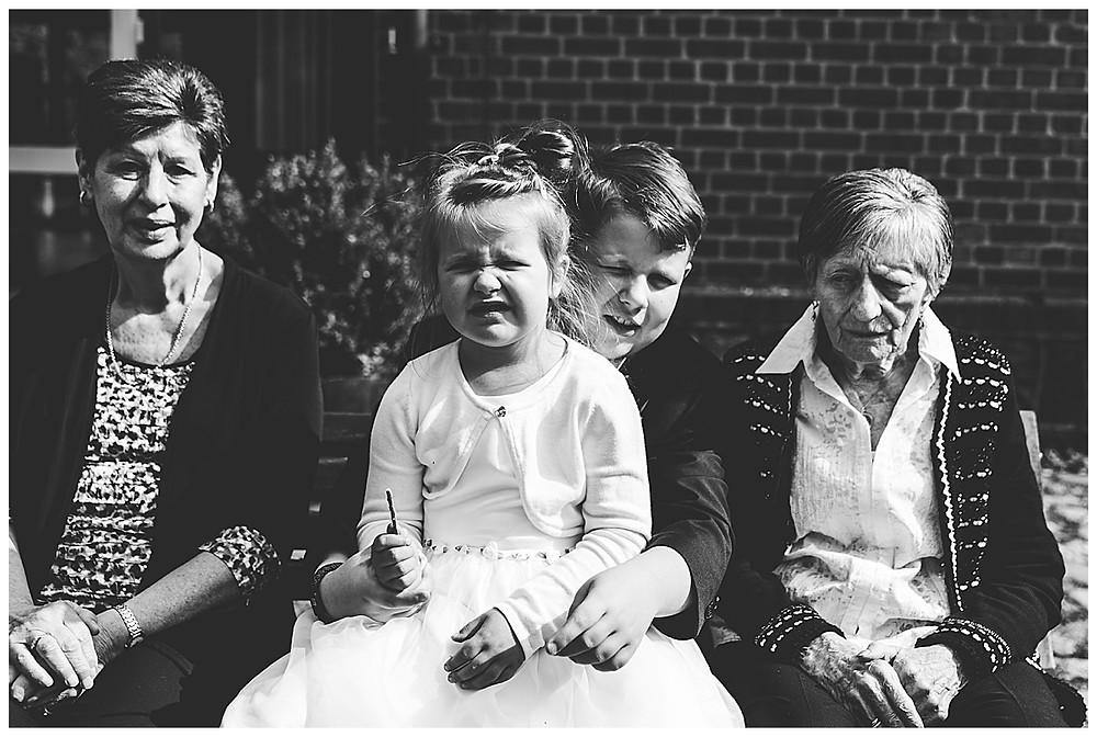 Generationenbild bei Hochzeit