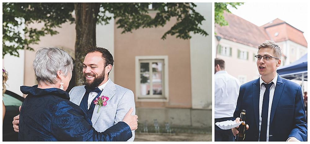 Heiraten im Kloster Wiblingen Gratulation