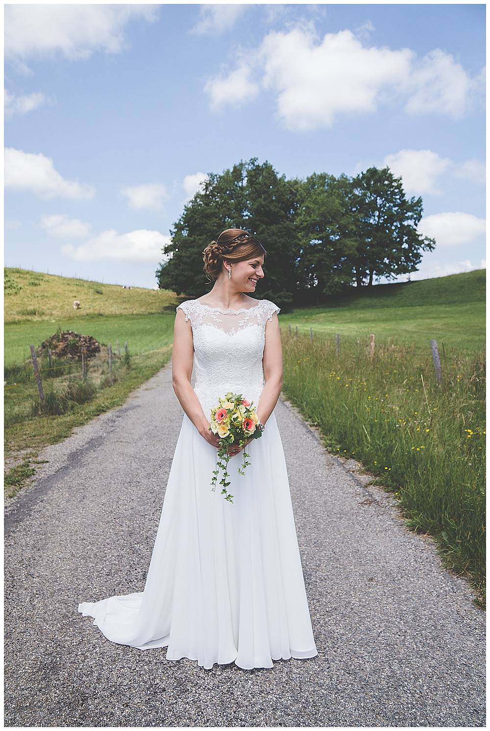 Brautportrait im Allgäu