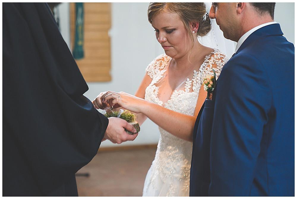Ringwechsel Kirche Hürben heiraten
