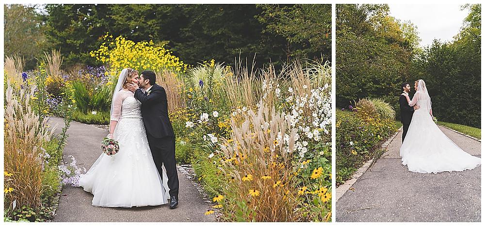 Brautpaarshooting in Ulm im Botanischen Garten Universität