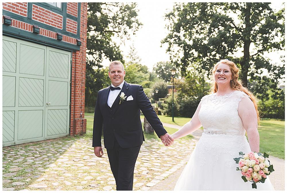 Brautpaarshooting in Ammersbek am Guthof