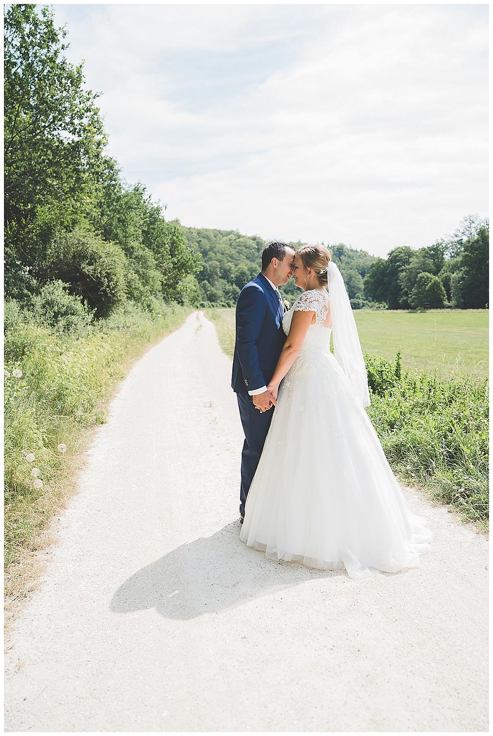 Brautpaarfotos im Lonetal
