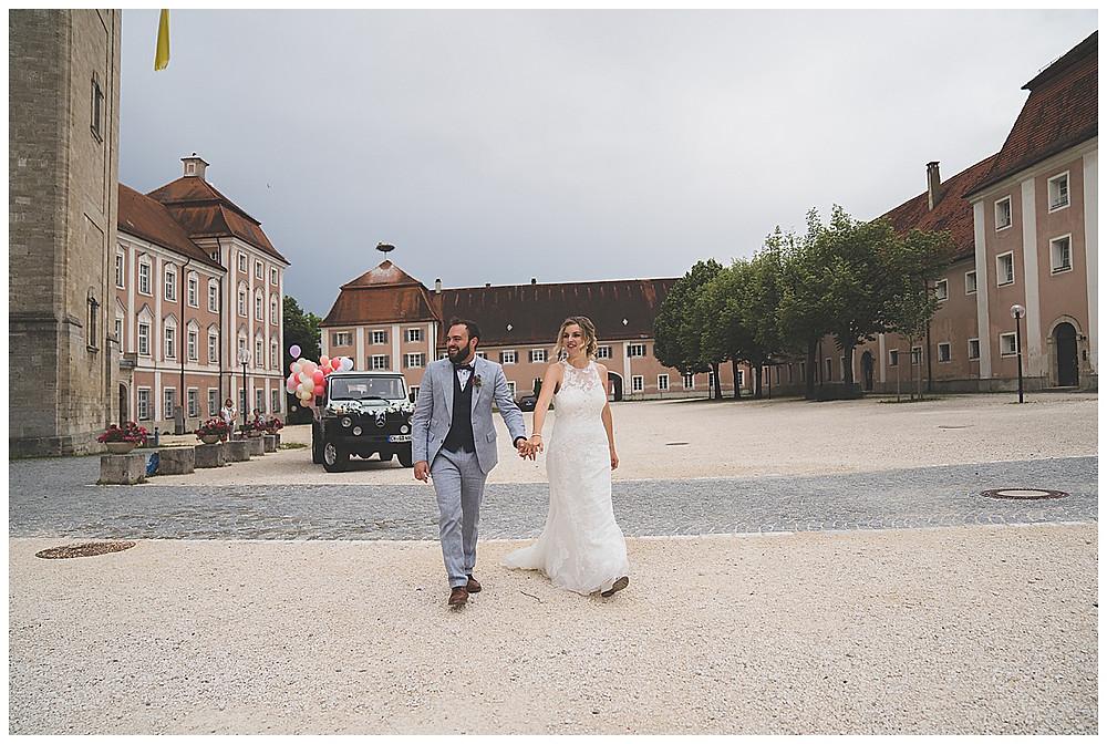 Hochzeitspaar Kloster Wiblingen