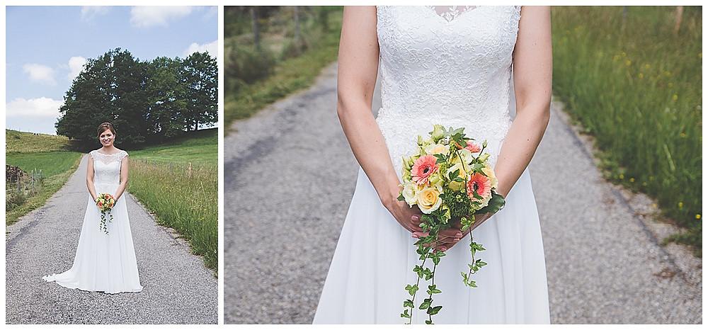 Brautportrait im Allgäu Hochzeitsfotograf