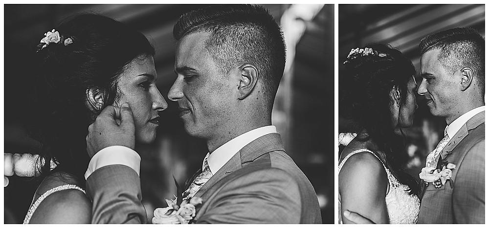 Brautpaarshooting auf dem Schammenhof Langenau im Kuhstall Hochzeitsfotograf Heidenheim