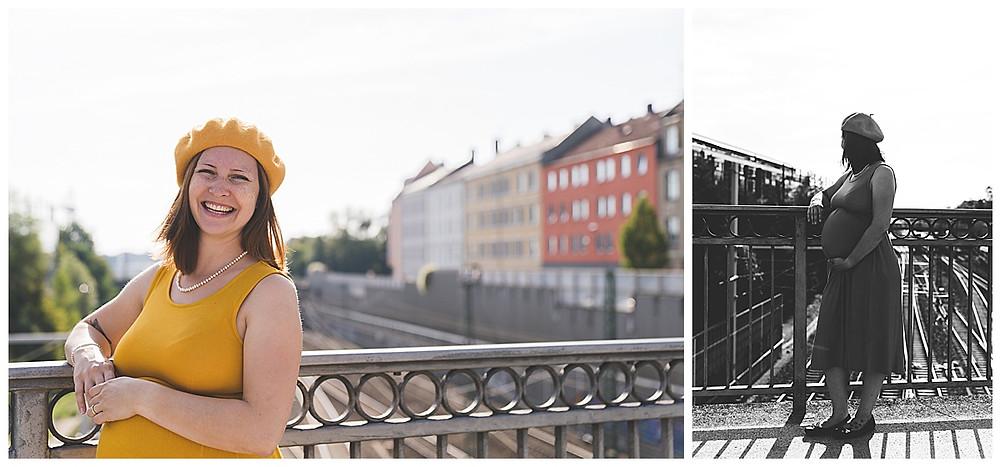schwangere im Augsburger Bismarckviertel
