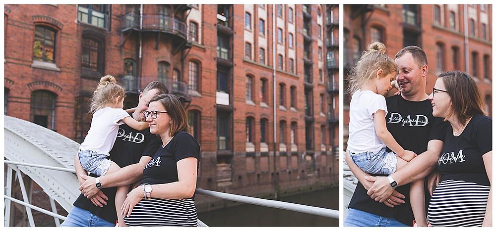 Fotograf Hamburg Schwangerschaftshoot Speicherstadt