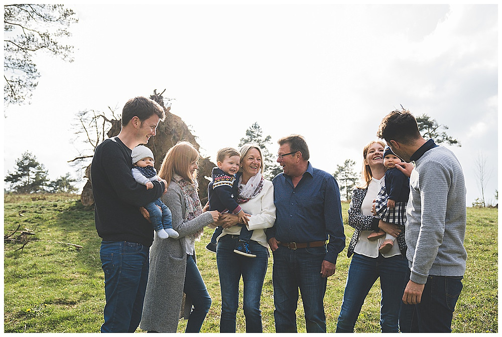 Großfamilie im Wental