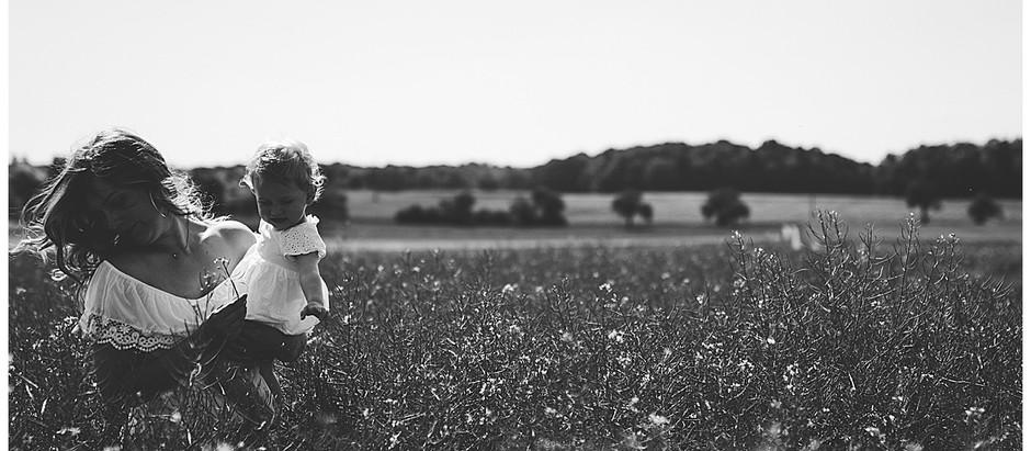 Mama und Tochter Fotoshooting in Herbrechtingen