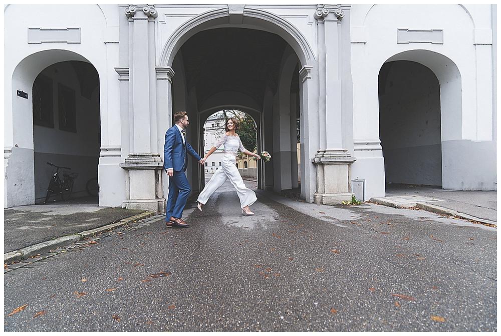 Brautpaar in Augsburg