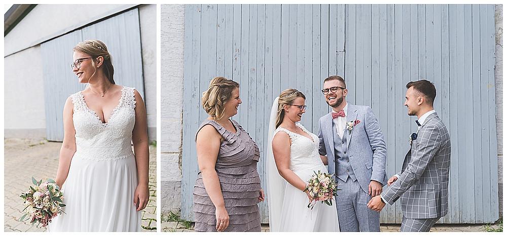 Brautpaarshooting Fotograf Stuttgart Bilder mit Trauzeugen