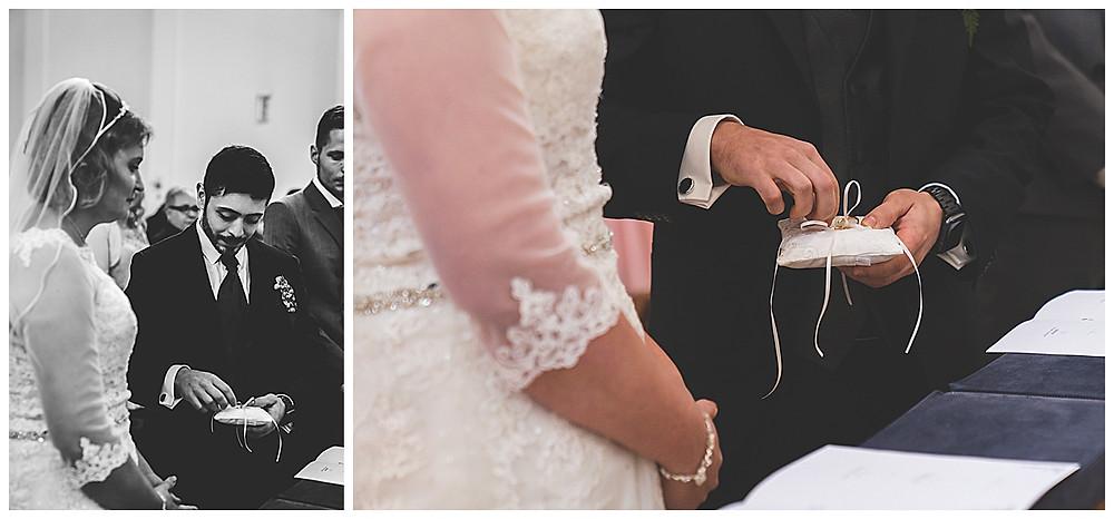 Suso Gemeinde St.Maria Ulm Hochzeit  Ringwechsel