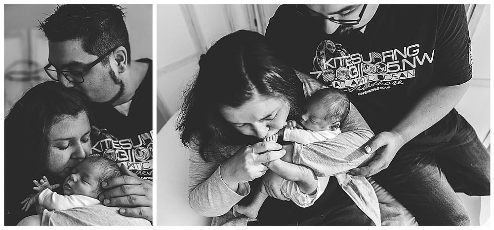 familienbilder mit neugeborenem baby