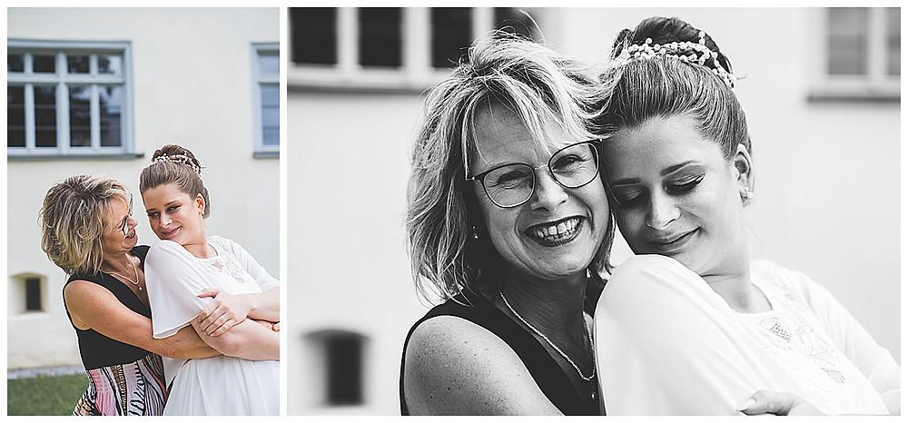 Braut mit Mama Kloster Herbrechtingen