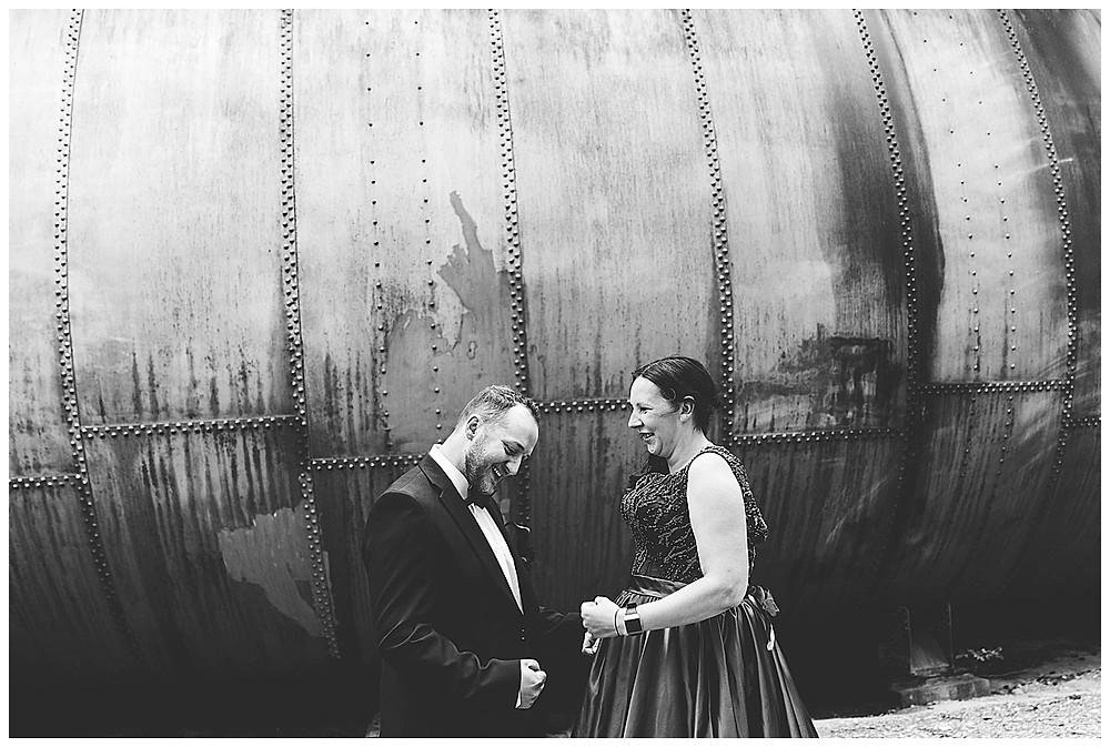 Brautpaar albert rum beim Fotoshooting