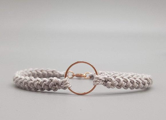 Rose Gold Mary-Jane Cotton Bracelet