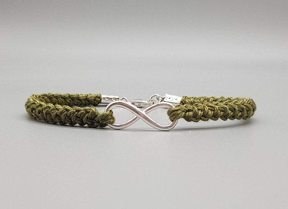 Infinity Cotton Bracelet