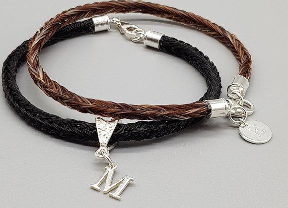 Horse Hair Box Braid Bracelet