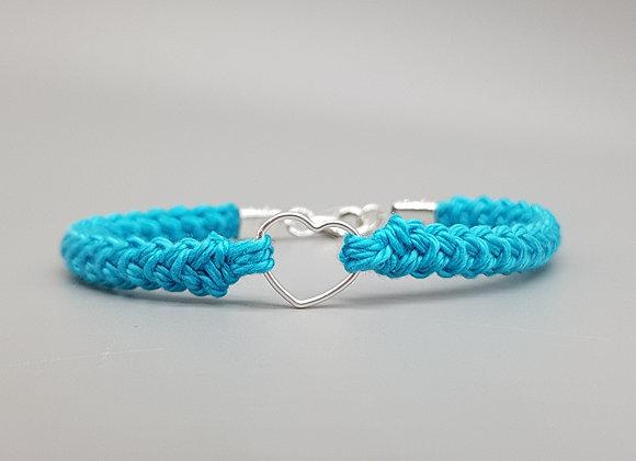 Sweet Heart Cotton Bracelet