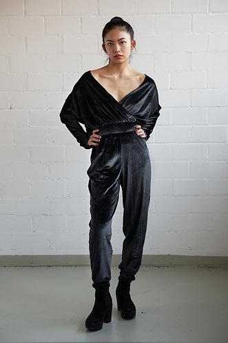 Velvet Warmup Suit