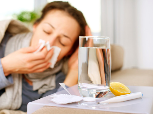 5 Top Tips to Ease & Prevent Cold & Flu Symptoms