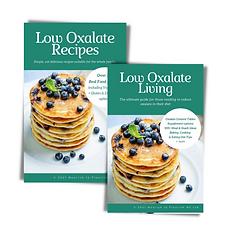 low oxalate living & recipe books