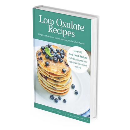 low oxalate recipes book
