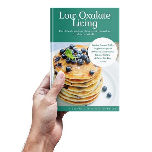 low oxalate living guidebook