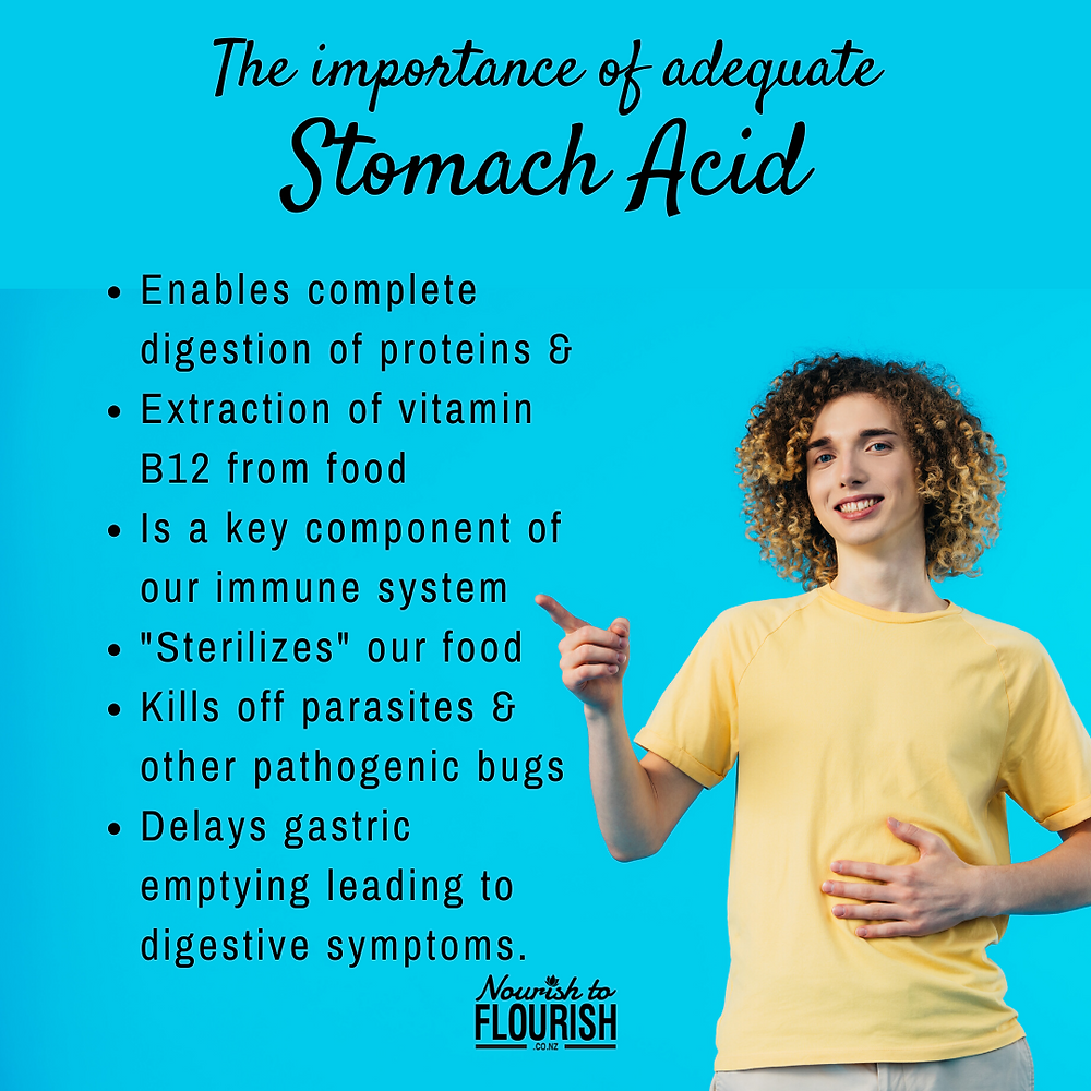 5 Reasons Why You Never Want Low Stomach Acid Levels