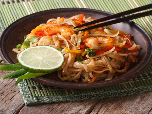 Thai prawn & ginger stir-fry